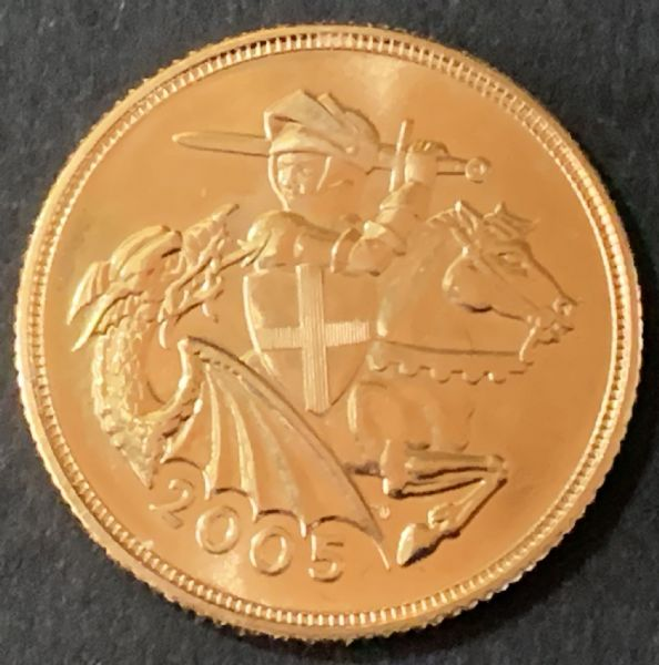 2005 Gold Sovereign
